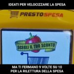 self scan and check-out cosa non ha funzionato